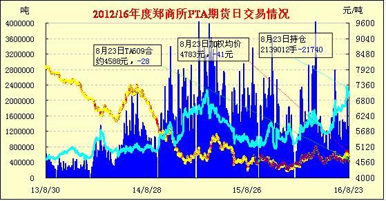 PTA期货:低开震荡 减仓续跌